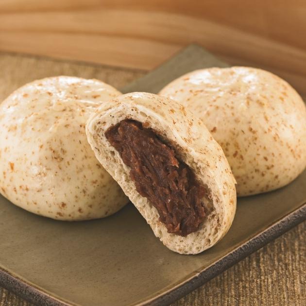 麩皮豆沙包 1